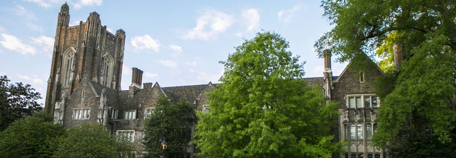 The Allen Building on Duke's West Campus